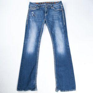 Rock Revival Vivian Studded Boot Cut Jeans